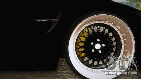 BMW M3 F30 para GTA San Andreas vista hacia atrás