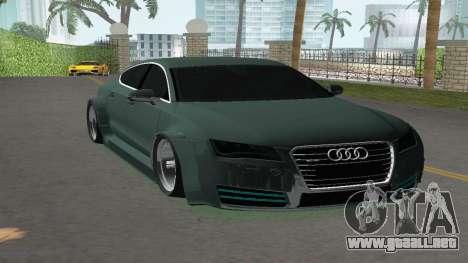 Audi A7 Sportback para GTA Vice City