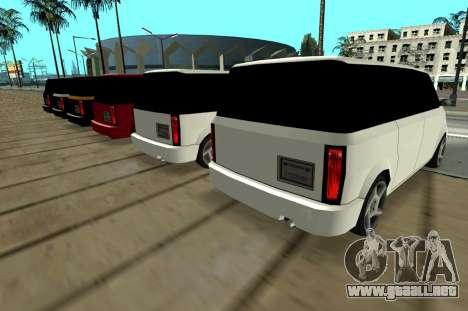 Moonbeam Kaef para la visión correcta GTA San Andreas