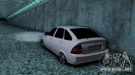 Lada Priora para GTA San Andreas left