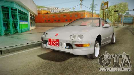 Honda Integra Type R para GTA San Andreas left