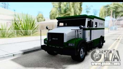GTA 5 Stockade v1 para la visión correcta GTA San Andreas