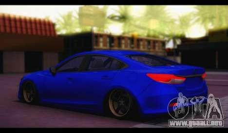 Mazda 6 Stance para GTA San Andreas left