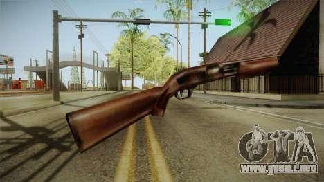 Silent Hill 2 - Shotgun para GTA San Andreas segunda pantalla