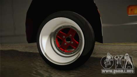 Honda Integra Type R para GTA San Andreas vista hacia atrás
