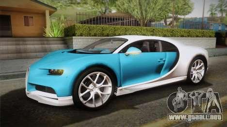 Bugatti Chiron 2017 v2.0 German Plate para visión interna GTA San Andreas