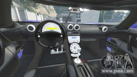 GTA 5 Koenigsegg CCX 2006 [Autovista] v2.0 [add-on] delantero derecho vista lateral