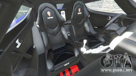Koenigsegg CCX 2006 [Autovista] v2.0 [add-on] para GTA 5