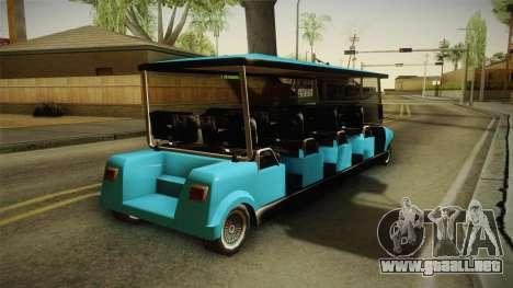 Caddy Limo para la visión correcta GTA San Andreas