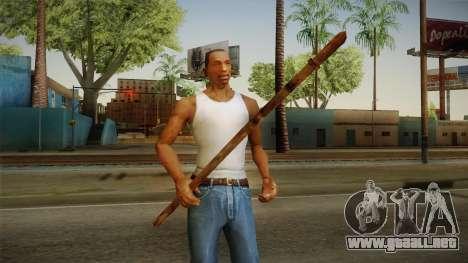 Silent Hill 2 - Weapon 1 para GTA San Andreas tercera pantalla