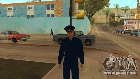 El Fiscal de la chaqueta de la PN para GTA San Andreas tercera pantalla