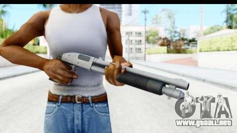 Tactical Mossberg 590A1 Chrome v3 para GTA San Andreas