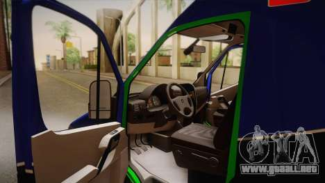 Mercedes-Benz Sprinter 2012 Midwest Ambulance para la visión correcta GTA San Andreas