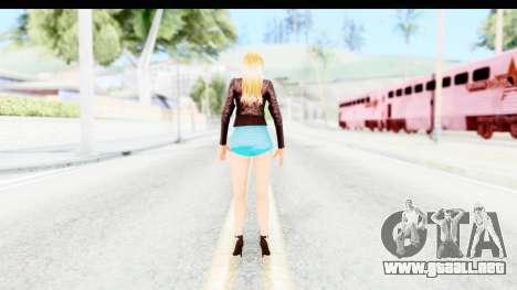 Sarah Hyland para GTA San Andreas tercera pantalla