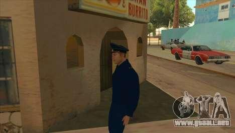 El Fiscal de la chaqueta de la PN para GTA San Andreas segunda pantalla