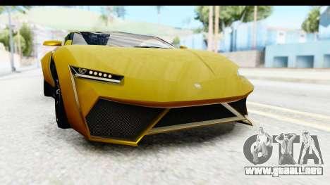 GTA 5 Pegassi Reaper IVF para vista inferior GTA San Andreas