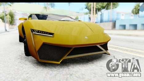 GTA 5 Pegassi Reaper IVF para la vista superior GTA San Andreas
