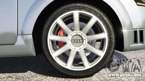 GTA 5 Audi TT (8N) 2004 [replace] vista lateral trasera derecha