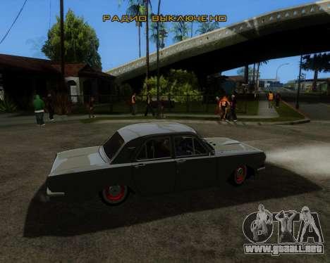 GAZ 2401 para GTA San Andreas left