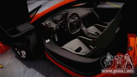 McLaren 675LT 2015 10-Spoke Wheels para visión interna GTA San Andreas