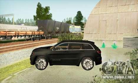 Jeep Cherokee SRT 8 para la visión correcta GTA San Andreas