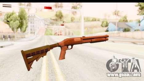 Tactical Mossberg 590A1 Black v2 para GTA San Andreas segunda pantalla
