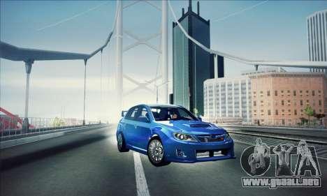 Subaru Impreza WRX STI 2011 para GTA San Andreas