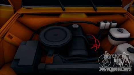 VAZ 2105 Pigler 1.0 para GTA San Andreas vista hacia atrás