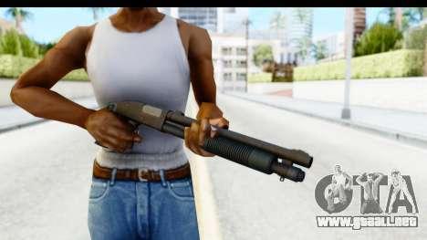 Tactical Mossberg 590A1 Black v3 para GTA San Andreas tercera pantalla