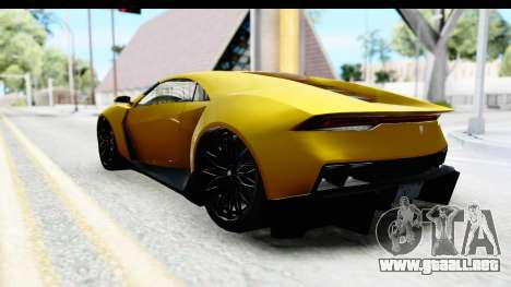 GTA 5 Pegassi Reaper IVF para GTA San Andreas left
