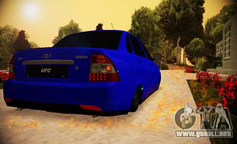 Lada Priora 2170 V.1.0 para GTA San Andreas left