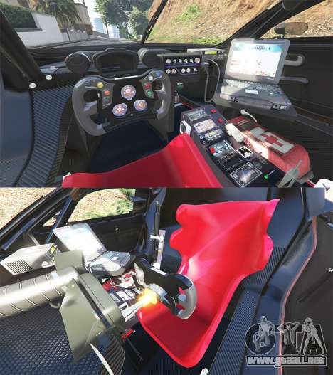 GTA 5 Renault Sport RS 01 2014 Police Interceptor [a] vista lateral trasera derecha