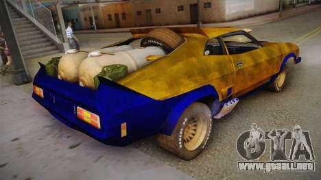 Ford Falcon 1973 Mad Max: Fury Road para GTA San Andreas left