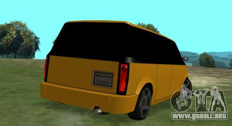 Moonbeam Kaef para GTA San Andreas left