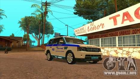 Range Rover Sport ДПС para GTA San Andreas