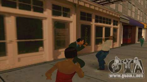 Karpov v1 para GTA San Andreas quinta pantalla