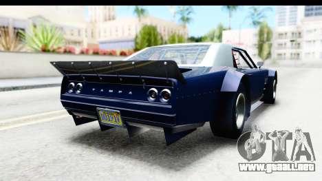 GTA 5 Declasse Tampa Drift para GTA San Andreas left