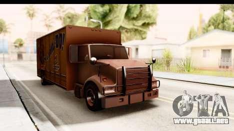 GTA 4 Vapid Benson para la visión correcta GTA San Andreas