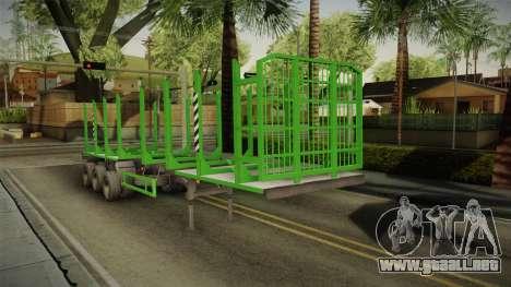 MAZ 99864 Remolque v2 para GTA San Andreas