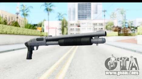 Tactical Mossberg 590A1 Chrome v3 para GTA San Andreas segunda pantalla