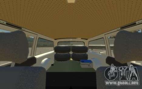 ГАЗ 310221 (Paul Black prod.) para GTA 4 Vista posterior izquierda