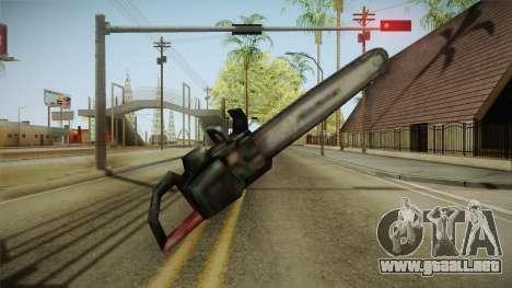 Silent Hill 2 - Chainsaw para GTA San Andreas tercera pantalla