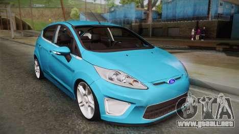 Ford Fiesta Kinetic Design para GTA San Andreas