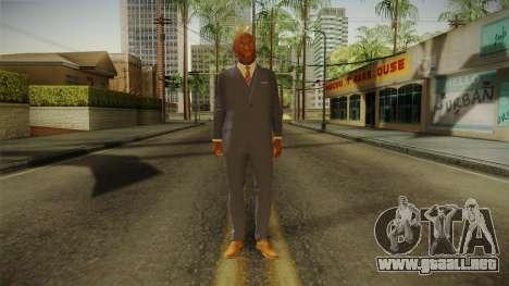 Quantum Break - Martin Hatch (Lance Reddick) para GTA San Andreas segunda pantalla