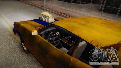 Ford Falcon 1973 Mad Max: Fury Road para la visión correcta GTA San Andreas