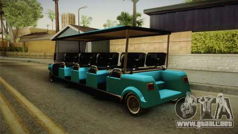 Caddy Limo para GTA San Andreas left