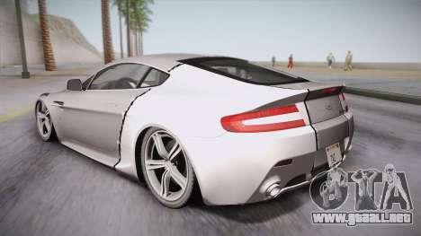NFS: Carbon TFKs Aston Martin Vantage para GTA San Andreas left