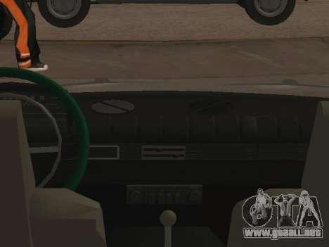 Los floreros 21013 krasnoyarsk para GTA San Andreas vista posterior izquierda