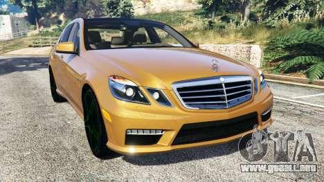 Mercedes-Benz E63 (W212) AMG 2010 [add-on] para GTA 5