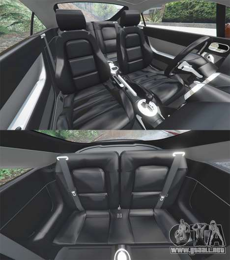GTA 5 Audi TT (8N) 2004 [add-on] delantero derecho vista lateral